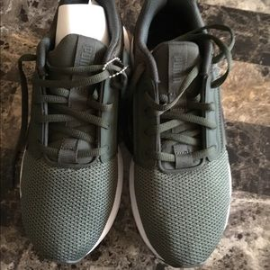 Olive green puma size 5.5 new with tag